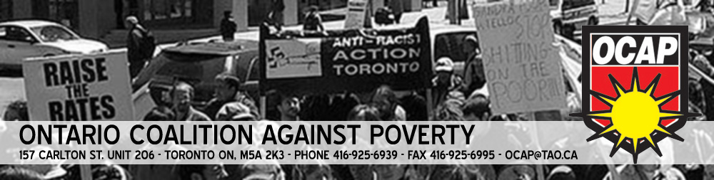 ontario coalition against poverty The most recent homelessness research, news, events, blogs, and multimedia features directly to your inbox sign up now.